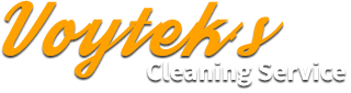 Voytek's Cleaning Logo
